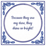 Because they are my stars, they shine so bright! (7.95 EUR)