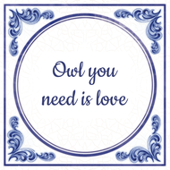 Owl you need is love (7.95 EUR)