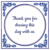 Thank you for sharing this day with us. (7.95 EUR)