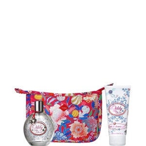 BLUE SPARKLE EAU DE TOILETTE + BAD & DOUCHEGEL + COSMETICA TAS (37.90 EUR)