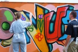 Graffiti workshop (49.95 EUR)