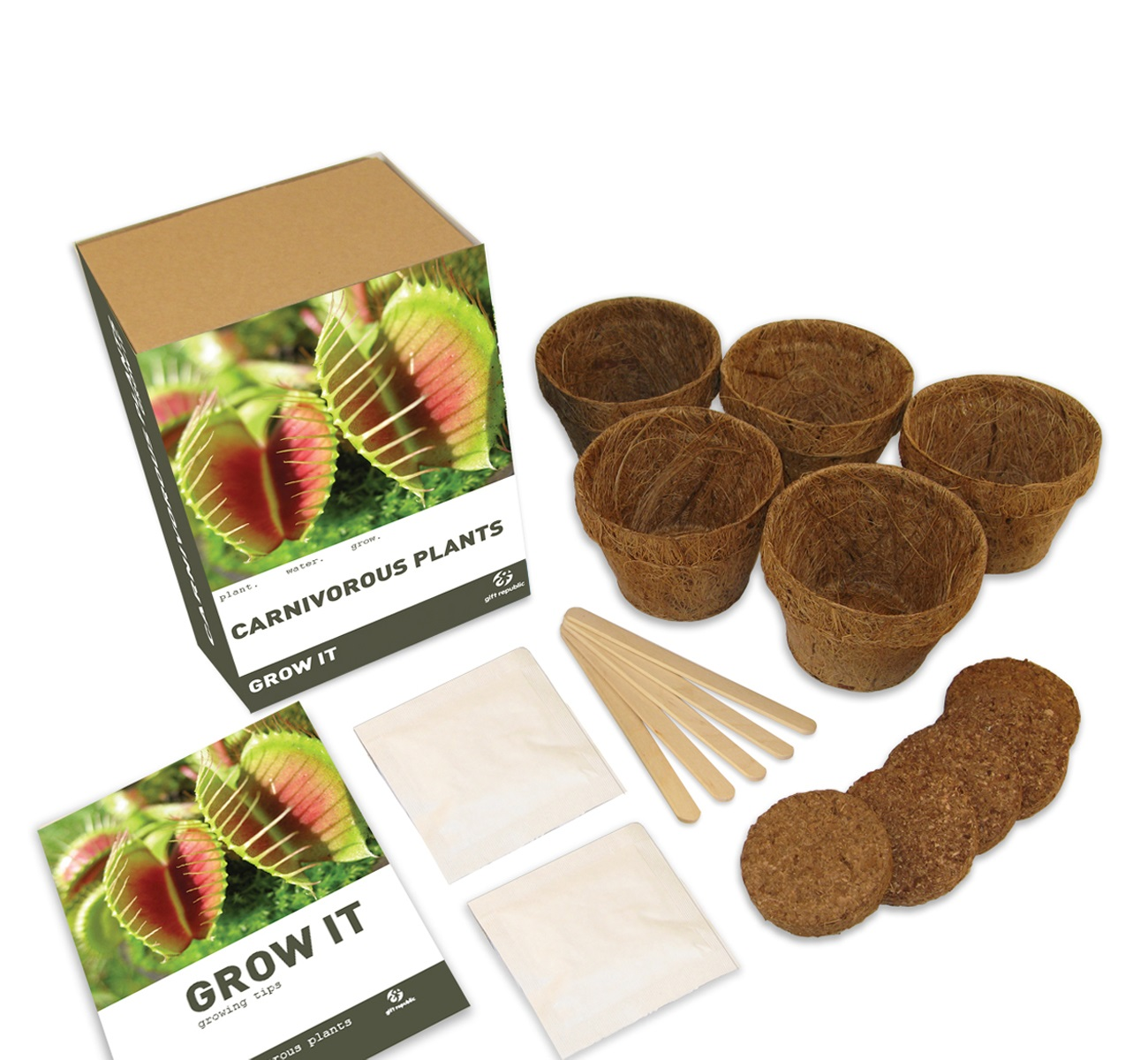 Grow It Kweekset - Vleesetende Plant