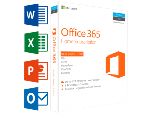 MICROSOFT SW Office 365 Home (UK) | 5 PC's or Mac + 5 tablets + 5 smartphones (99.00 EUR)