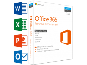 MICROSOFT SW Office 365 Personal (NL) | 1 PC of Mac + 1 tablet + 1 smartphone (69.99 EUR)