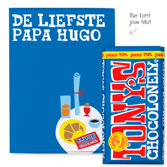 Tony's Chocolonely giftbox - Vaderdag (puur)