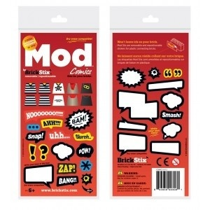 Brickstix Mod: Comics 38 Stickers ( 2.75 EUR)
