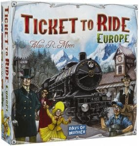 Days of Wonder bordspel Ticket to Ride Europe (34.50 EUR) 25.00% korting