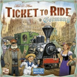 Days of Wonder bordspel Ticket to Ride Germany (34.90 EUR) 25.00% korting