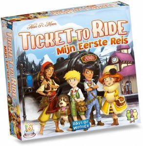 Days of Wonder bordspel Ticket to Ride Mijn Eerste Reis (NL) (23.90 EUR) 34.00% korting