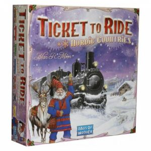 Days of Wonder bordspel Ticket to Ride Nordic Countries (en) (17.95 EUR) 50.00% korting