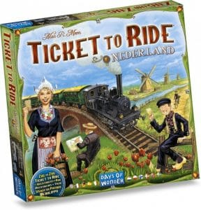 Days of Wonder uitbreding Ticket to Ride Nederland (18.95 EUR) 47.00% korting