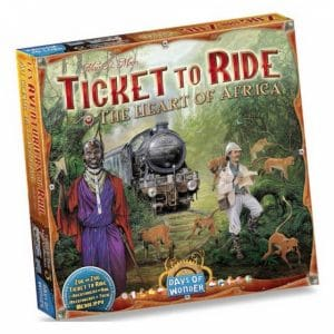 Days of Wonder uitbreiding Ticket to Ride Afrika (21.90 EUR) 39.00% korting