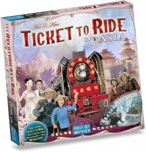 Days of Wonder uitbreiding Ticket to Ride Azië (24.99 EUR) 42.00% korting