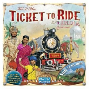 Days of Wonder uitbreiding Ticket to Ride India (22.45 EUR) 38.00% korting