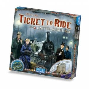Days of Wonder uitbreiding Ticket to Ride UK & Pennsylvania (24.95 EUR) 41.00% korting
