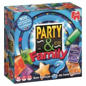 Jumbo gezelschapsspel Party & Co Family (27.95 EUR) 26.00% korting