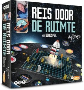 Just Games bordspel Reis door de ruimte met André Kuipers (15.45 EUR) 45.00% korting