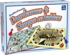 King Oudhollands Paardenrace & Slangen en Ladders (8.95 EUR) 25.00% korting