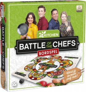 King bordspel Battle Of Chefs (24 Kitchen) (11.10 EUR) 26.00% korting