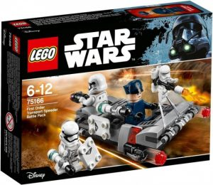 LEGO Star Wars: First Order Transport Speeder Battle (75166) ( 15.50 EUR)