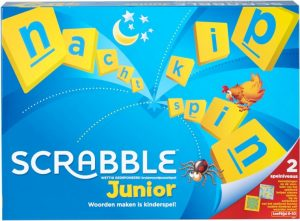 Mattel bordspel Scrabble Junior (NL) (22.90 EUR) 32.00% korting