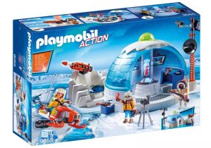 PLAYMOBIL Action: Hoofdkwartier Poolexpeditie (9055) (37.50 EUR)