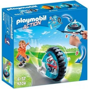 PLAYMOBIL Action: Monobike blauw (9204) (8.95 EUR)