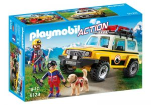 PLAYMOBIL Action: Reddingswerkers met terreinwagen (9128) (18.85 EUR)
