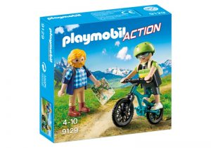 PLAYMOBIL Action: Wandelaar en mountainbiker (9129) (4.45 EUR)