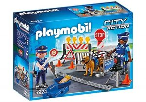 PLAYMOBIL City Action: Politie wegversperring (6924) (12.40 EUR)