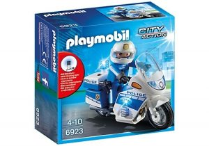 PLAYMOBIL City Action: Politiemotor met LED licht (6923) (12.45 EUR)