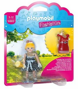 PLAYMOBIL City Life: Fashion Girl Retro (6883) (3.45 EUR)