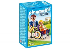 PLAYMOBIL City Life: Kind in rolstoel (6663) (5.25 EUR)