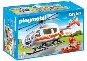 PLAYMOBIL City Life: Traumahelikopter (6686) (29.50 EUR)