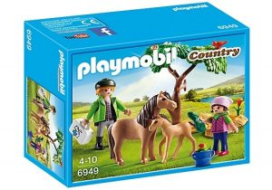 PLAYMOBIL Country: Dierenarts met pony's (6949) (9.10 EUR)