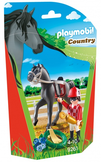 PLAYMOBIL Country: Jockey (9261)