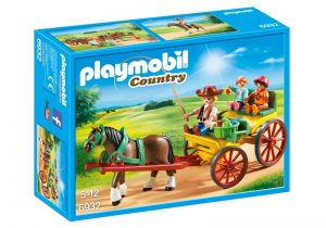 PLAYMOBIL Country Paard en kar (6932) (13.25 EUR)