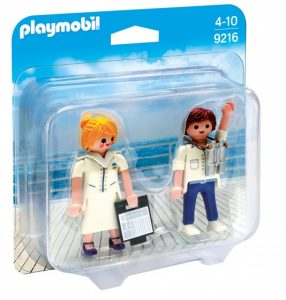 PLAYMOBIL Duopack: Steward en stewardess (9216) (4.25 EUR)