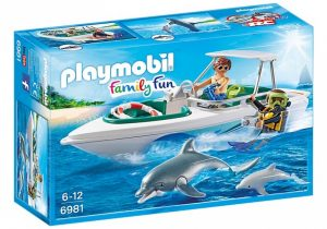 PLAYMOBIL Family Fun: Duiktrip met plezierboot (6981) (24.60 EUR)