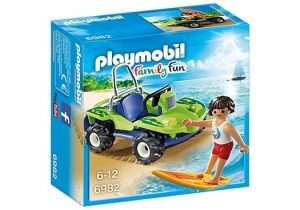 PLAYMOBIL Family Fun: Surfer met strandbuggy (6982) (6.95 EUR)