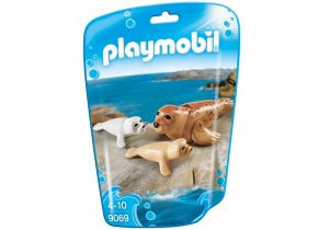 PLAYMOBIL Family Fun: Zeehond met pups (9069) (5.35 EUR)