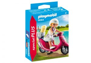 PLAYMOBIL Special Plus: Zomers meisje met scooter (9084) (3.25 EUR)