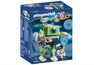 PLAYMOBIL Super 4: Cleano Robot (6693) (14.40 EUR)