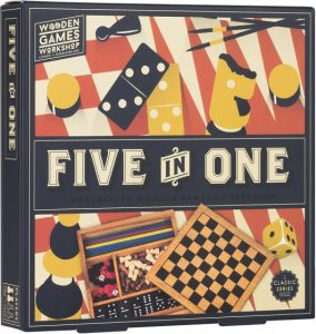 Professor Puzzle spellendoos Five in One (7.95 EUR) 33.00% korting