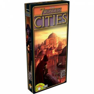 Repos Production uitbreiding 7 Wonders Cities (17.90 EUR) 32.00% korting