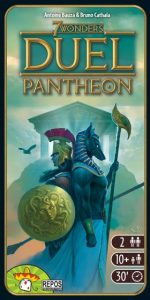 Repos Production uitbreiding 7 Wonders Duel Pantheon (15.99 EUR) 35.00% korting