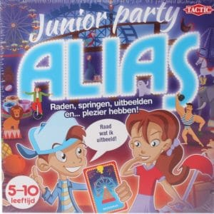 Tactic Junior party alias (11.95 EUR) 50.00% korting