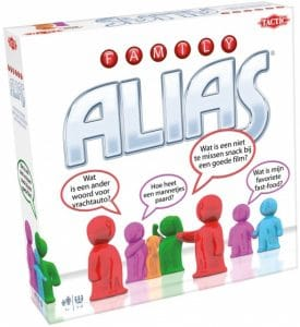 Tactic bordspel Family Alias (17.95 EUR) 40.00% korting