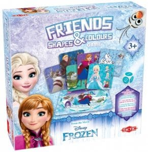 Tactic gezelschapsspel Frozen Friends Shapes & Colours (12.40 EUR) 27.00% korting