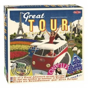 Tactic gezelschapsspel Great Tour (20.45 EUR) 43.00% korting
